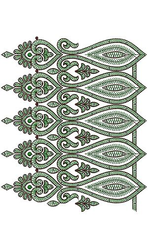 Lace New Embroidery Design 13750