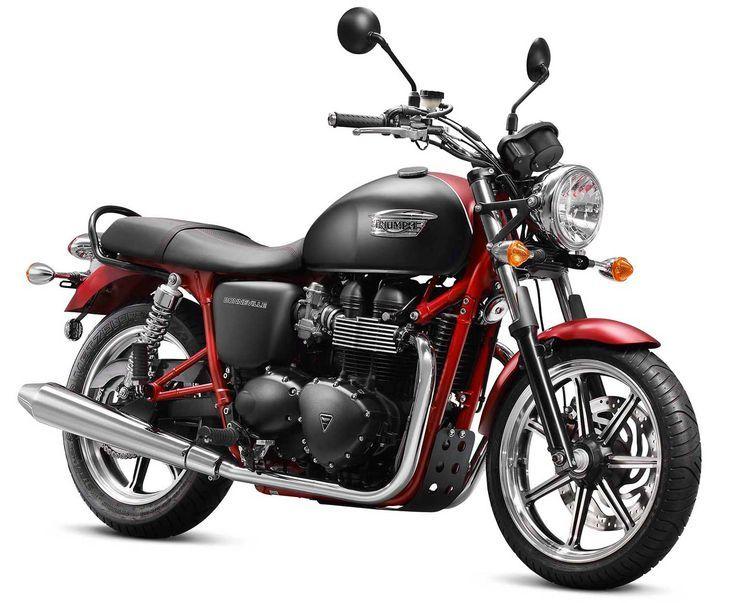 10 buenas motos recomendables para mujeres: Triumph Bonneville