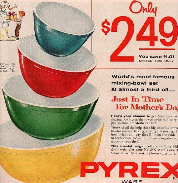 Vintage Kitchen Bowls: 25+ Best Ideas About Rare Pyrex On Pinterest