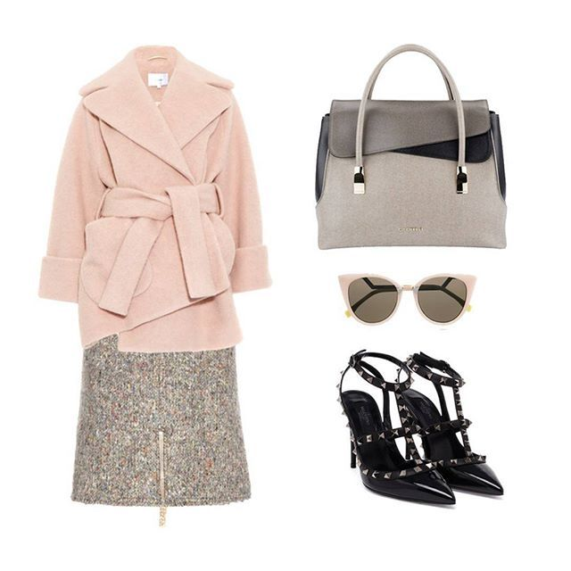 Wear your #Cromia #Angelina handbag in beige and match it with a bouclé skirt, cocoon coat and patent black heels for a very cool look!  #cromiabag #cromialovers #handbag #fashion #style #baglover #charme #trend #outfit #bag #instastyle #instafashion #bagoftheday #fashionblogger #iconic #citystyle #glamour