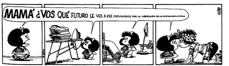 Mafalda, tiras de Mafalda
