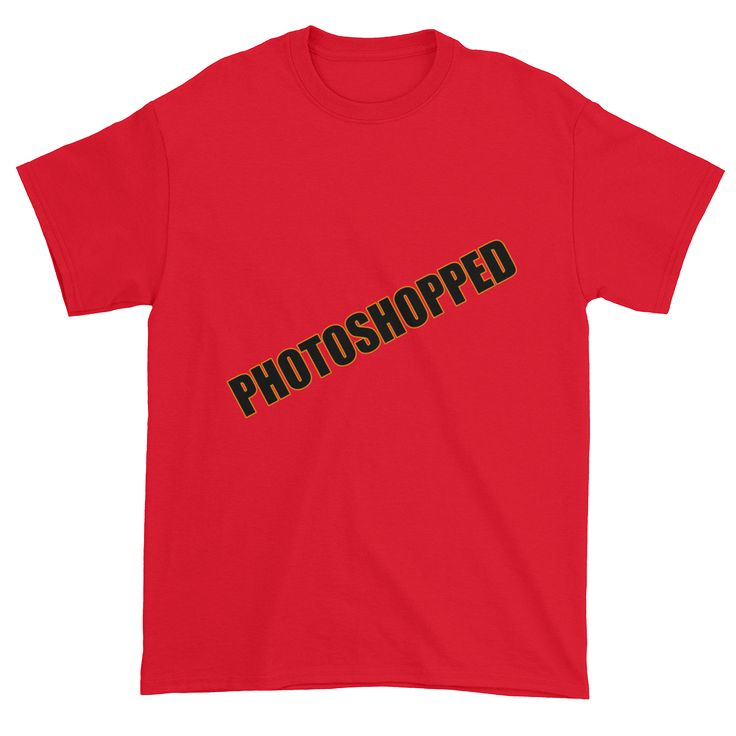Photoshopped - Short sleeve t-shirt