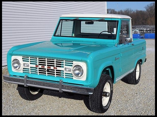 1966 Ford Bronco Nice Old Trucks Ford Bronco Ford Trucks