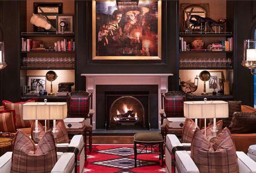 Hotel Jerome...our new fav Aspen bar
