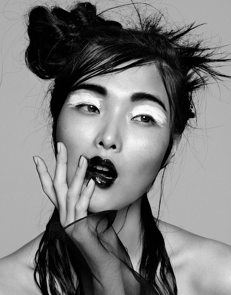 Sung Hee by Yu Tsai for Flaunt Magazine April 2014. #fashion #beauty #makeup #photography
