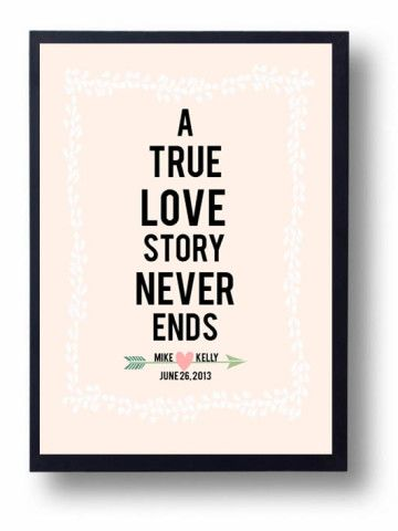 Wedding Anniversary Print
