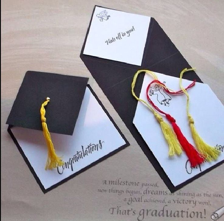 Attractive Graduation Card Ideas To Make Part - 11: Mortarboard By Tessaduck - Cards And Paper Crafts At Splitcoaststampers.  She Calls It A Fancy Fold Card. I Call It Clever. Like The Graduation Quote  Too.