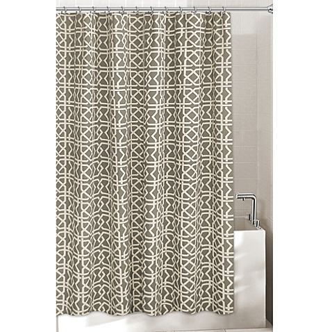 Lattice Shower Curtain