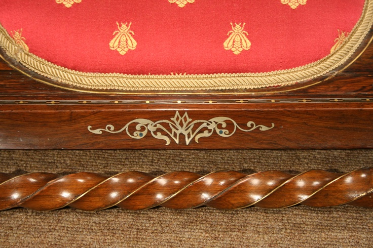 Continental Rosewood Footstools