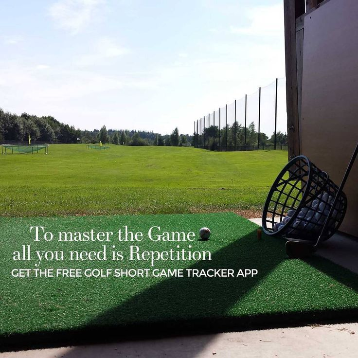Practice with the Golf Short Game Tracker and improve your game. Download at http://www.golfshortgametracker.com
