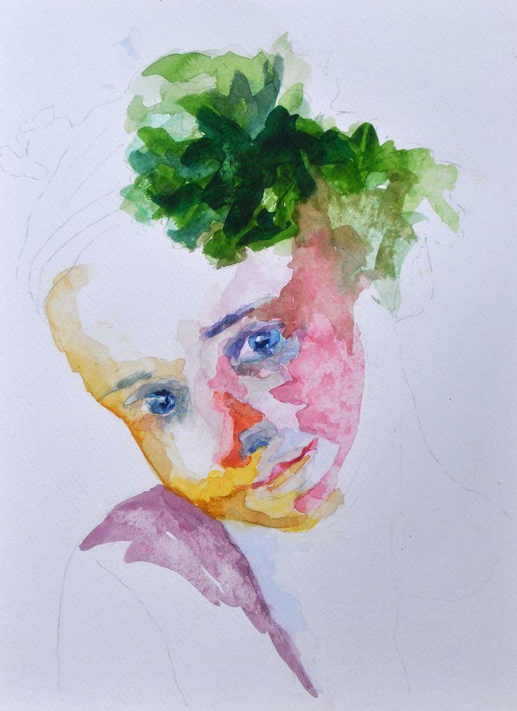 children of the world on Behance watercolors by valentini mavrodoglou   #valentinimavrodoglou