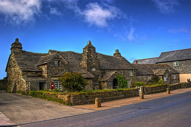 Tintagel Post Office  Cornwall  UK...  oh my goodness..THIS is the post Office??