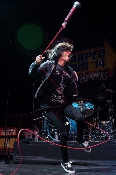 Taka and the red mic!!