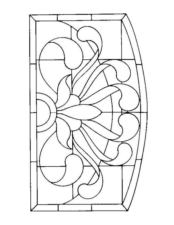 Stained Glass Patterns For Free Glass Pattern 473