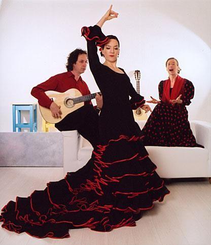Платье для фламенко заказать