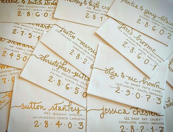 276 Best My Envelopes Images On Pinterest Lettering