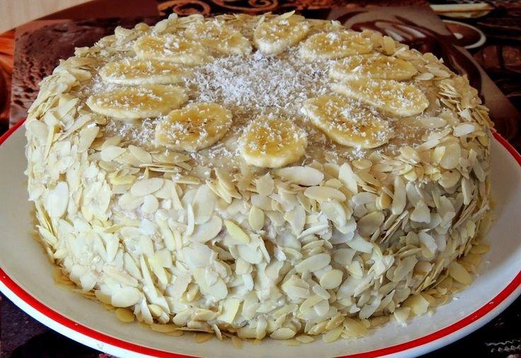 Самый вкусный банановый торт