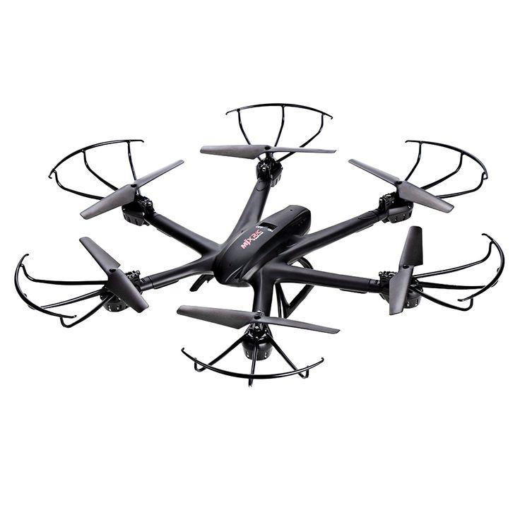 Arshiner MJX X600 2.4G 4 Canales RC Quadcopter Drone Hexacopter 6 Ejes Gyro 3D Rollo de Retorno Automático sin Cabeza Modo Uno Volver Helicóptero Key(sin cámara) -Negro: Amazon.es: Juguetes y juegos
