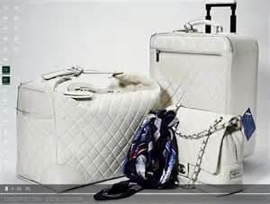 Chanel luggage set
