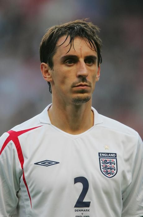 Gary Neville - Manchester United, England.