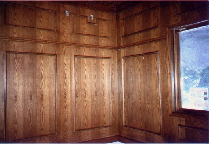 wood paneling old world style