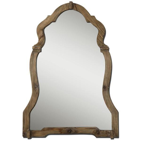 Uttermost, Agustin, Light Walnut Mirror, Mirror, Wall Mirror, PB, Mirror