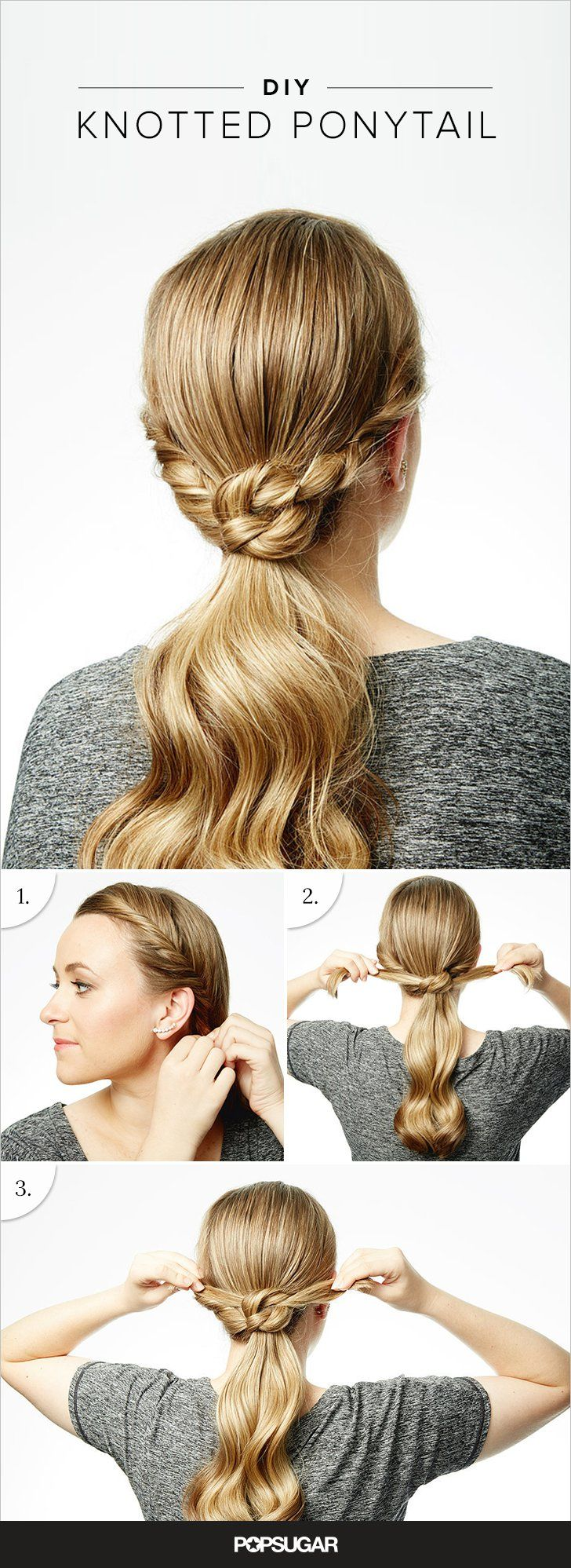 This 3-Step Ponytail Tutorial Will Upgrade Your Valentine's Day Hair Game