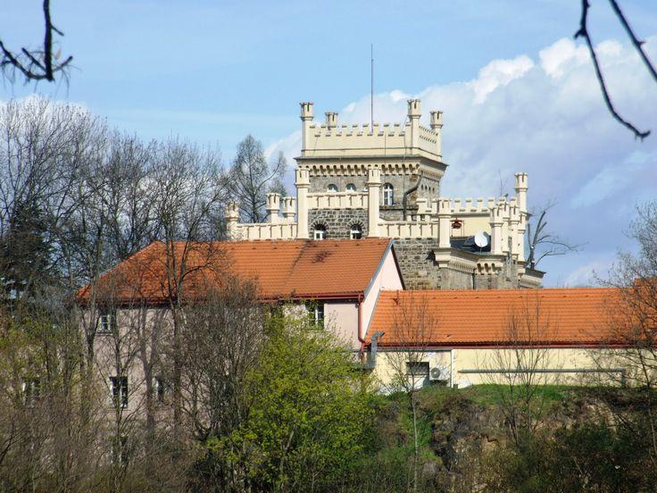 Prague- Hloubětín- chateau..