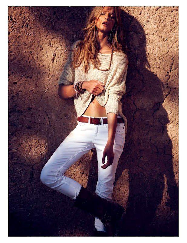 ru_glamour: Анна Селезнева для Vogue Paris, Апрель 2012.