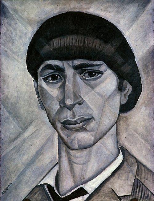 http://www.liveinternet.ru/users/3717443/post223412428/ Мария Воробьёва-Стебельская (Маревна) Портрет Осипа Цадкина.
