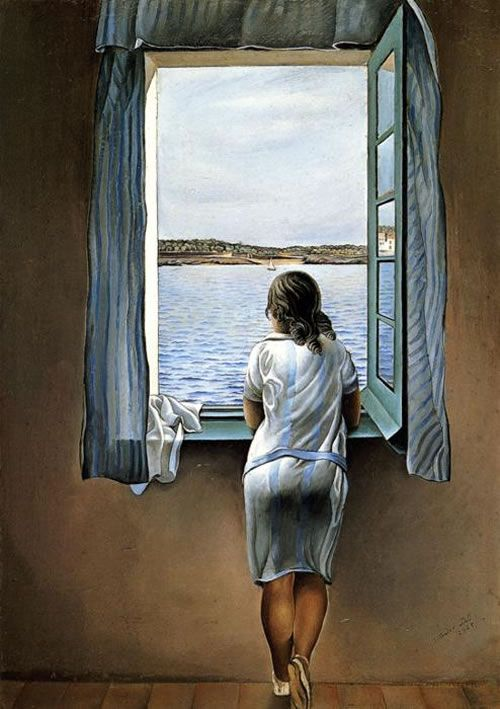 "Salvador Dalí. ""Figure at a Window,"" 1925"