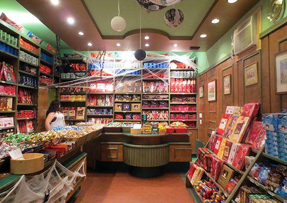 10 Best Candy Shops in NYC - fun list, especially around Halloween!