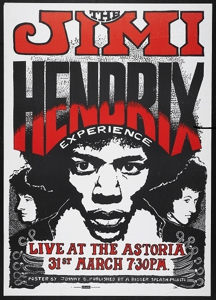JIMI HENDRIX: '67 gig poster