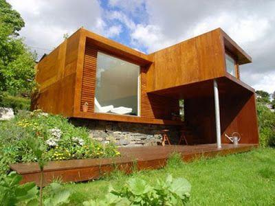 Casas modulares y prefabricadas de diseño: casas de madera