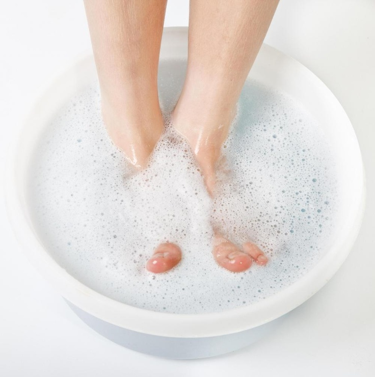 Soak your feet for at least 10 minutes before using a callus shaver.