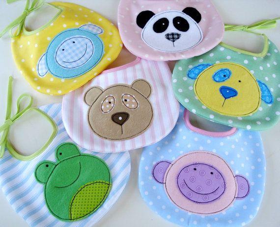 SALE PDF ePattern for Baby Animal Appliques by preciouspatterns