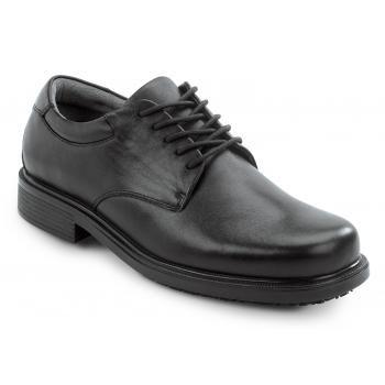 Rockport Works SRK6585 Men's Black Soft Toe, MaxTrax Slip Resistant Dress  Oxford