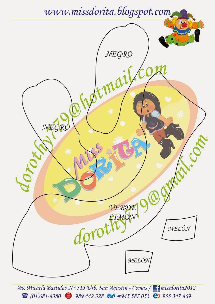 Miss Dorita: Molde Payasito