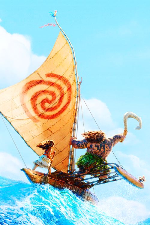 Closer look at the teaser poster for Disney's Moana (2016)