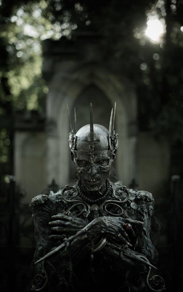 "steampunktendencies: "" King of the Zombie. Сemetery. FOTO: Ilja Hubálek Actor: Josef Rarach FX Makeup: Vlad Taupes (studio FX Creator, Barrandov) """