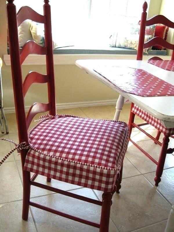 Classic Country Check Chair Pad Sturbridge Yankee Workshop Diy