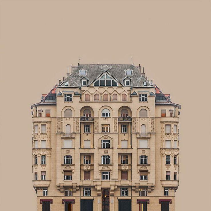 Городская симметрия — минималистский проект от Zsolt Hlinka