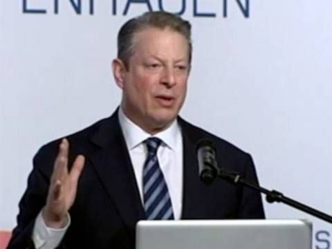 Al Gore Warns Polar Ice May Be Gone in Five Years. A team of world-renowned climate change evangelists went out in search of proof of their religion of global warming, and what they found froze them to their very core. They found ice so thick, they needed to be rescued. An inconvenient truth to say the least! http://www.nowtheendbegins.com/blog/?p=15906