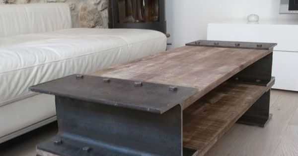 Woodwork, Industrial and Tables on Pinterest
