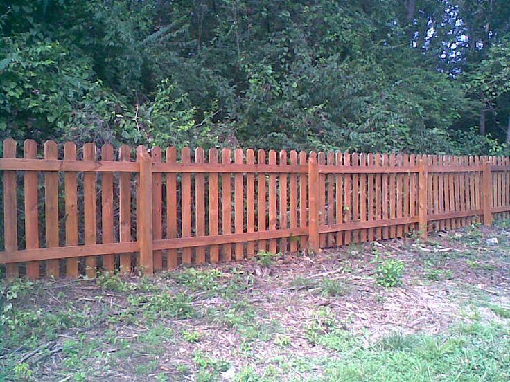 25+ Bästa Wood Picket Fence Idéerna På Pinterest