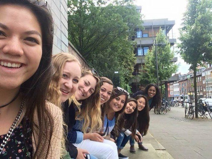 Cori gives an insight into her study abroad experience in Maastricht