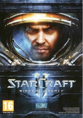 Starcraft II: Wings of Liberty (Battlenet) -  Availability: 2,  Brand: Blizzard Entertainment,  Product Code: Starcraft-2-Wings-of-Liberty,  Release date: 2010,  Online mode: Yes,  Metacritic score: 93,  Age rating: 14+,  Price: 48.00 lt
