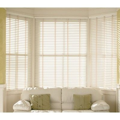 True White Wooden Venetian Blind