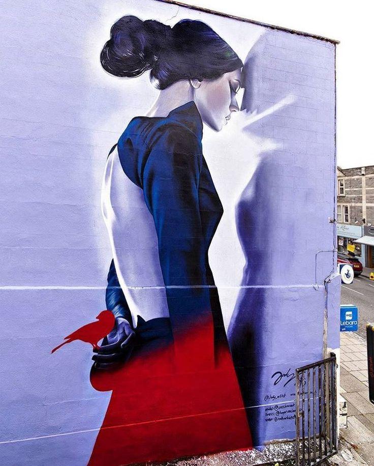 RT GoogleStreetArt: New Street Art by Jody Artist for Bristol Upfest Upfest…