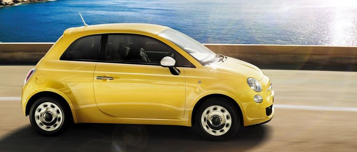 Fiat 500. Want this in Electroclash Grey. Please!